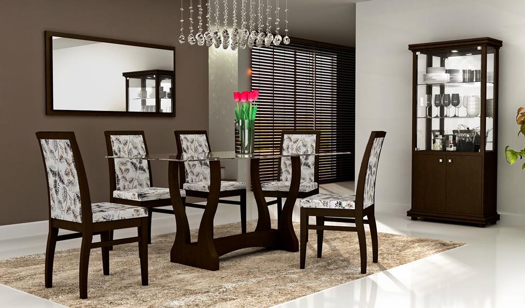 Sala De Jantar Retangular ~ sala de jantar decorada mesa redonda sala de jantar